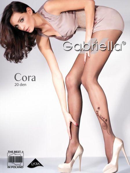 Gabriella Strumpbyxor med diskret moenster Cora, 20 DEN