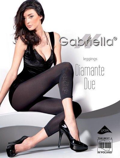 Eleganta leggings med smyckesdekoration Diamante Due fr