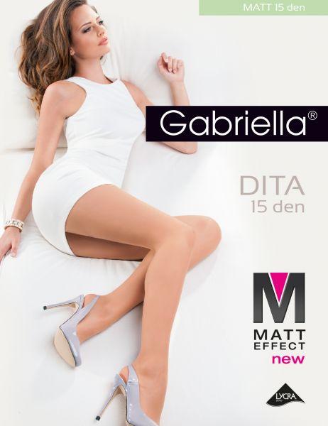 Gabriella Dita - Klassisk tunn strumpbyxa, matt