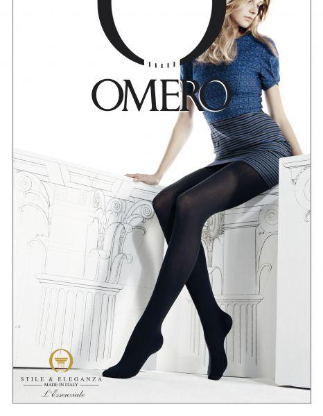 Slät heltäckande strumpbyxa Chimera 70 från Omero