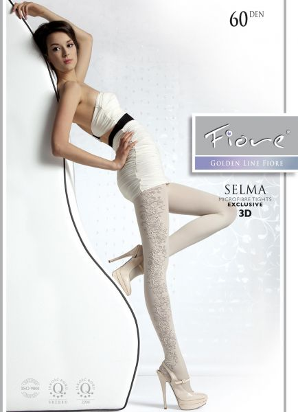 Strumpbyxor med floralt mönster Selma 60 den från Fiore