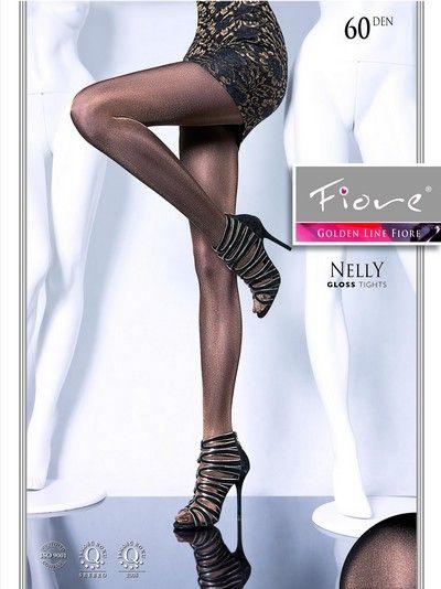 Elegant glansig strumpbyxa Nelly 60 DEN utan m