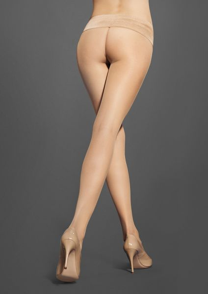 Slät sömlös strumpbyxa Sensual 30 från Marilyn