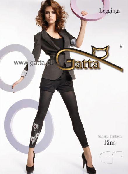 Gatta 7/8-leggings med blommigt moenster Rino 01
