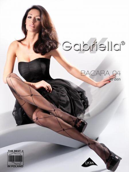 Gabriella Strumpbyxor med trendigt rutmoenster Bacara 04, 20 DEN