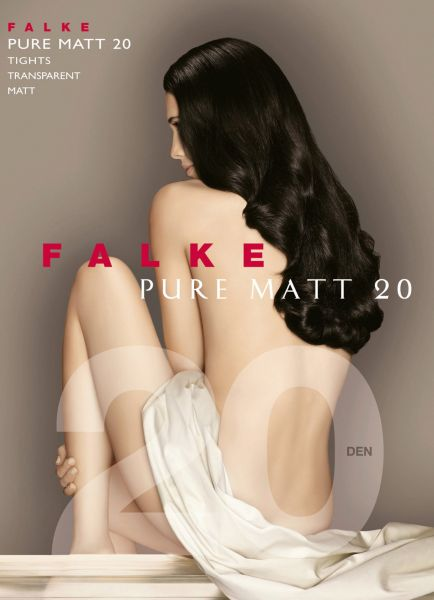 Falke Pure Matt 20 - Genomskinlig matt strumpbyxa