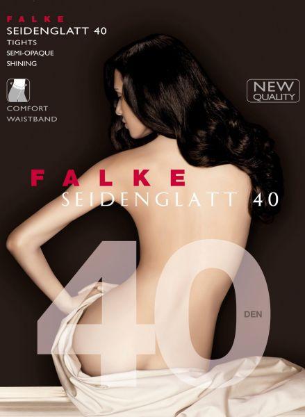 Falke Seidenglatt 40 - Semi-heltäckande strumpbyxa med sidenglans