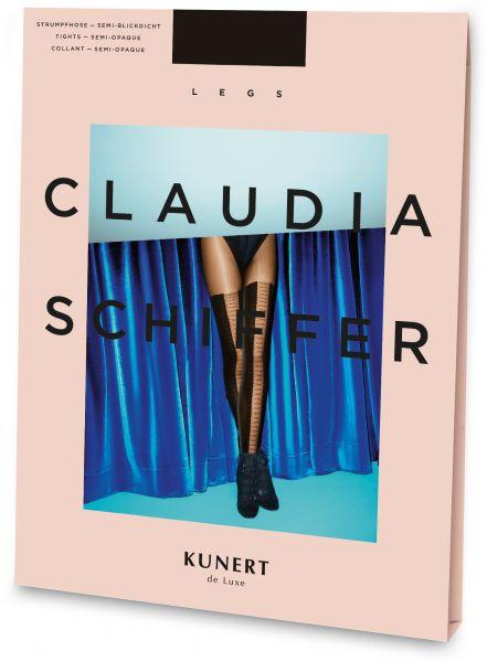 Claudia Schiffer Legs KUNERT de Luxe Laced overknee-strumpbyxa