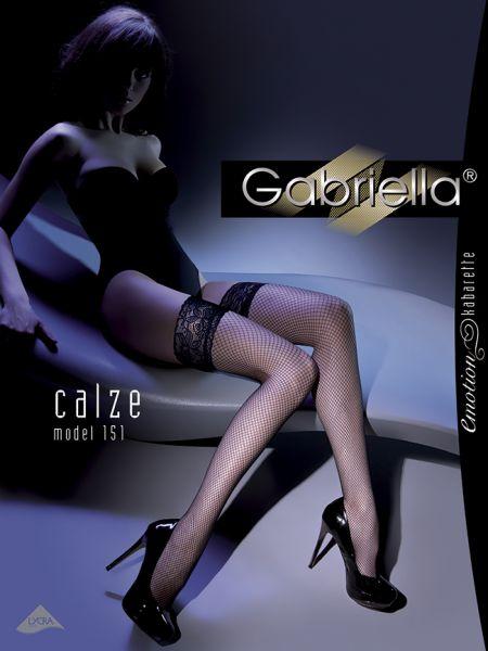 Nät stay-ups Kabarette 151 från Gabriella