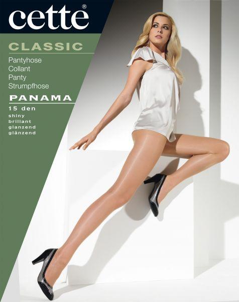 Slät glansig strumpbyxa Panama från Cette, 15 den