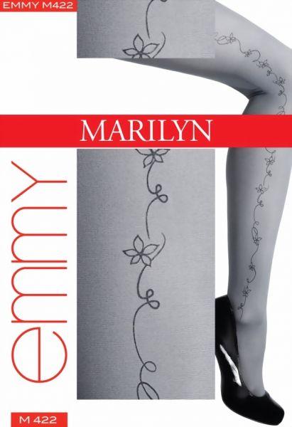 Marilyn Strumpbyxor med blommigt moenster Emmy, 40 DEN