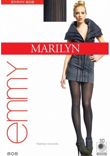 Marilyn Strumpbyxor med randmoenster Emmy, 40 DEN