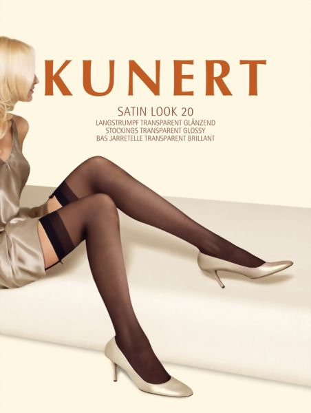 Kunert Glansiga stockings Satin Look 20