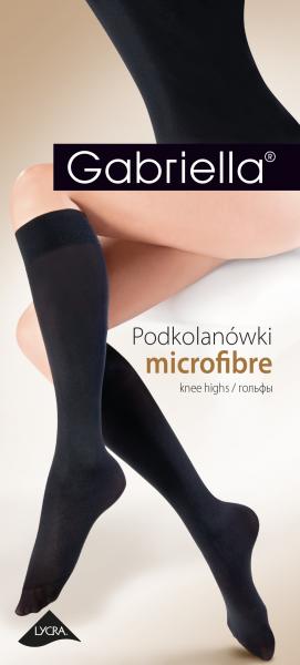 Släta knästrumpor i microfiber, 50 DEN