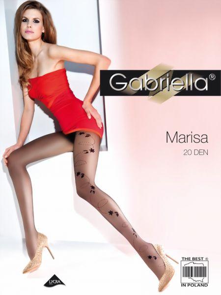 Gabriella Strumpbyxor med moenster Marisa, 20 DEN
