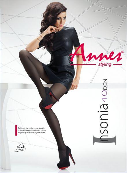 Annes Insonia - Slät semi-heltäckande strumpbyxa, 40 denier