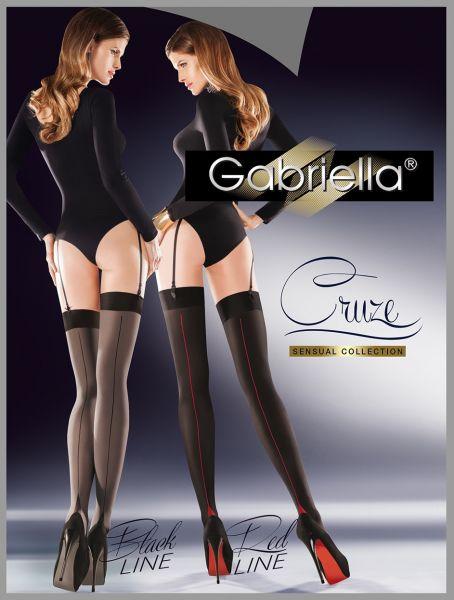 Heltäckande stockings med söm på baksidan Cruze från Gabriella
