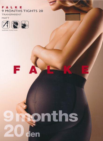 FALKE 9 Months - Tunn strumpbyxa för gravida