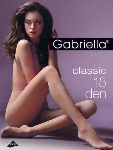Gabriella Slät klassisk tunn strumpbyxa Classic 15