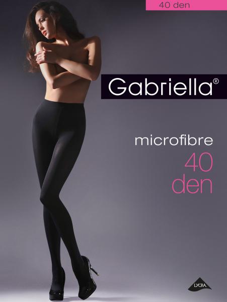 Slät strumpbyxa Microfibre 40 den från Gabriella