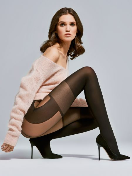 Fiore - Strumpbyxa med stockings-look Modern