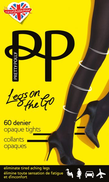 Pretty Polly Legs on the Go - Heltäckande strumpbyxa med inbyggd kompression