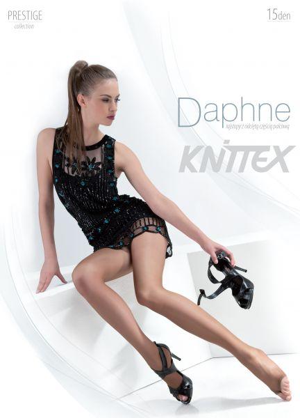 Knittex Slät strumpbyxa med öppen tå Daphne 15 den