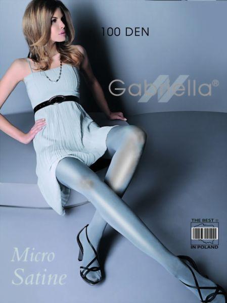 Gabriella Elegant glansig strumpbyxa Micro Satin 100 DEN, utan moenster