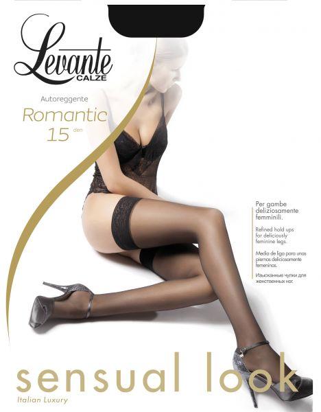 Levante Klassiska stay-ups med spetskant Romantic 15