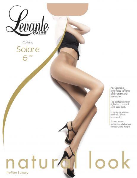 Extremt tunna strumpbyxor Solare från Levante, 6 den