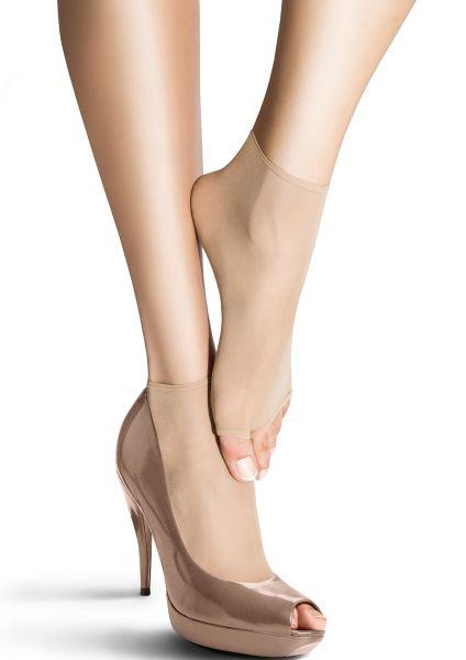 2 par tunna sockor med öppen tå Petki NF 15 från Marilyn