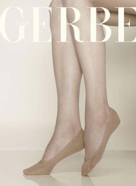 Bekväma sockor utan skaft med bomull Coton från Gerbe