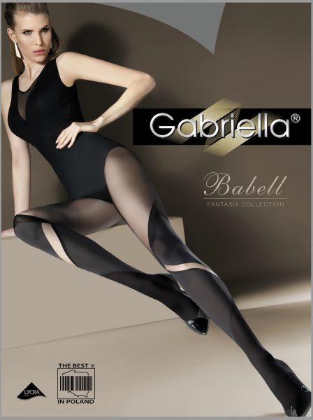 Gabriella - Strumpbyxa i overknee-look Babell