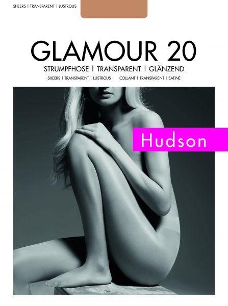 Slät glansig strumpbyxa Glamour 20 från Hudson
