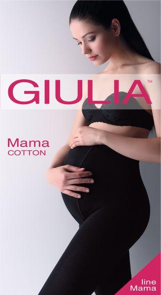 Heltäckande strumpbyxa för gravida Mama Cotton 200 från Giulia