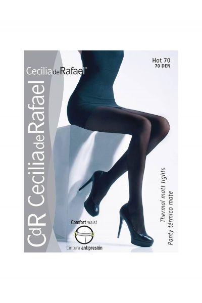 Cecilia de Rafael Hot - Varm vinter strumpbyxa, 70 denier