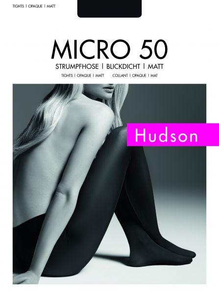 Hudson Slät heltäckande strumpbyxa Micro 50