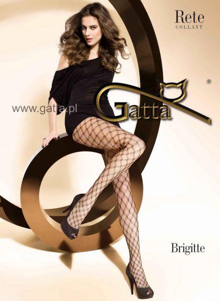 Gatta Naetstrumpbyxor med rutmoenster Brigitte 03
