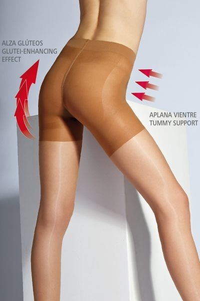 Figurformande push-up strumpbyxa Sevilla från Cecilia de Rafael, 15 DEN