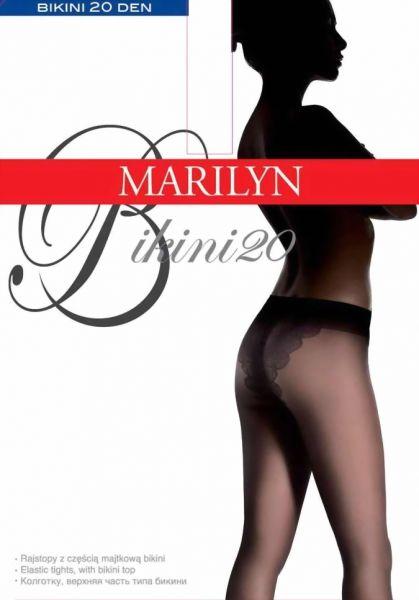 Marilyn Elegant strumpbyxa Bikini, 20 DEN
