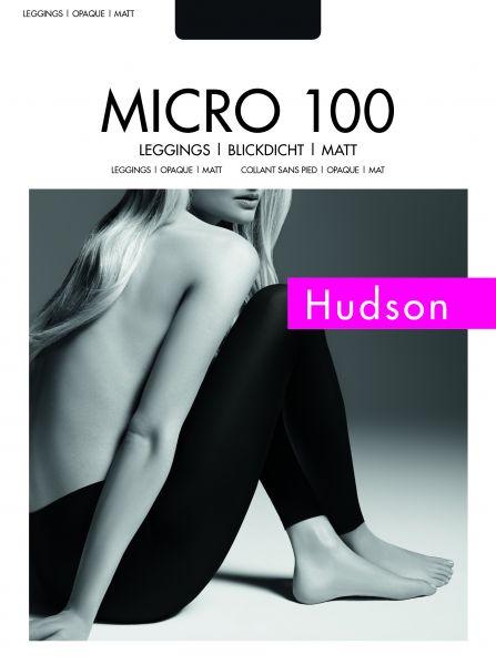 Hudson Micro 100 - Slät heltäckande legging