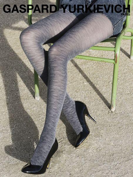 Gerbe - Exclusive strumpbyxa i jeans-look Very Denim från Gaspard Yurkievich with Gerbe