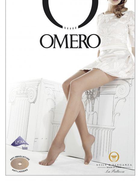 Omero Permaneo 20 - Klassisk strumpbyxa, mycket motståndskraftiga mot maskor