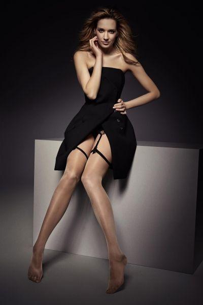 Veneziana - Eleganta tunna stockings Candy