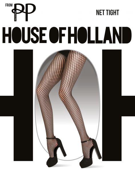 Nätstrumpbyxa Net Tight från House of Holland for Pretty Polly