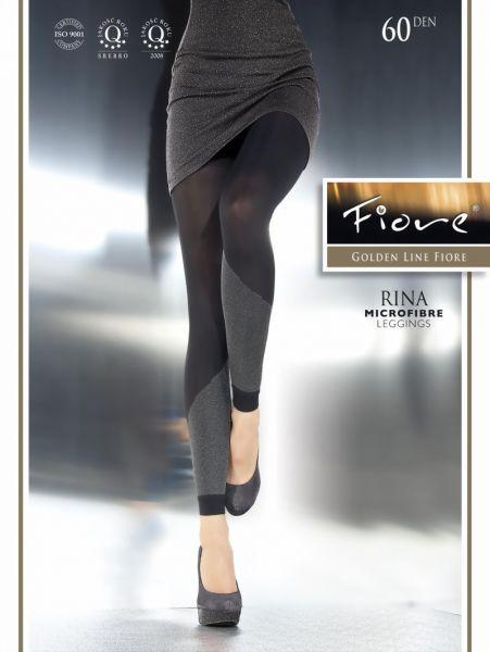 Fiore Eleganta leggings med moenster Rina 60 DEN