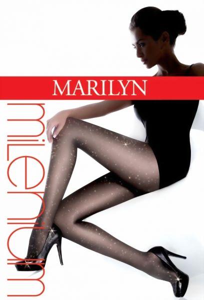 Marilyn Elegant glansig strumpbyxa Milenium