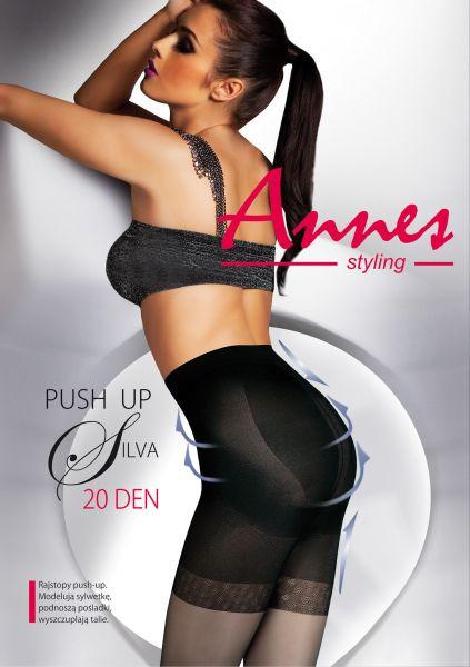 Figurformande push up strumpbyxa Silva från Annes