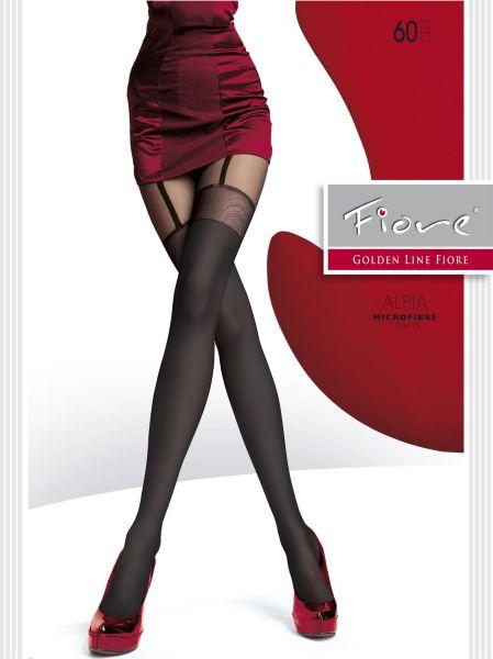 Strumpbyxor med förföriskt mönster i stockings-look Alpia från Fiore, 60 den