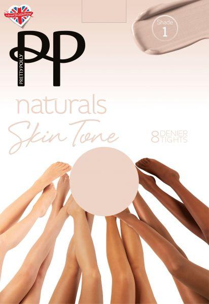 Tunn strumpbyxa Naturals Skin Tones 8 DEN från Pretty Polly